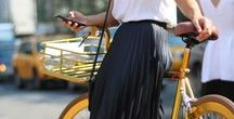 Spring / Summer looks with pleated skirts