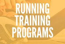 ! Running Training Programs / Ready to run? Get running training programs for half marathons, marathons, 5K and 10K. Also, check out running programs for weight loss, 30 day running programs, running tips, and workout plans.