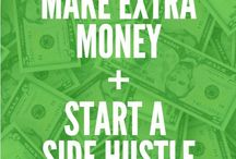 ! Make Extra Money | Start A Side Hustle | Earn Extra Money / Learn how to make extra money from home, earn extra money online, make extra money on the side, make extra money blogging, start a side business, and more.
