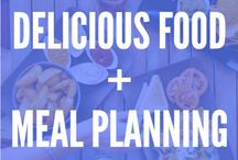 ! Delicious Food | Meal Planning / Enjoy all kinds of fun, delicious meals for breakfast, lunch, dinner, snacks and dessert. Also, get meal planning tips, delicious food tips, meal planning on a budget tips, meal planning printables -- or watch meal planning videos and delicious food videos!