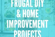 ! Frugal DIY and Home Improvement Projects / You've come to the right place for DIY and home improvement projects for your budget. Get frugal ideas for home decor, kitchen remodel, bathroom remodel, bedroom makeover, kid's rooms, basement remodel, dining rooms, living rooms, outdoor spaces, all seasons rooms, guest room, home office, and more.