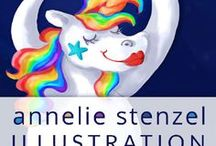 Illustrationen / Illustrationen Annelie Stenzel