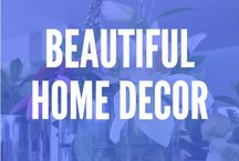 ! Beautiful Home Decor / Check out some great home decor ideas, including home decor ideas for cheap, home decor DIY on a budget, home decor ideas for the living room, and more!