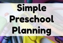 Homeschooling Preschool & Kindergarten / Ideas for homeschooling during the early years.  How much time do you need to spend?  How do you keep them occupied and engaged?  How do you avoid burnout and overwhelm when teaching preschool and kindergarten at home?