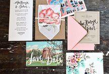Graphic Design and Invitations / by Sarah Bridges