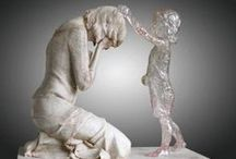 Grieving Mother / Comfort for those who grieve the loss of a child.  See more and read our story at RaisingArrows.net