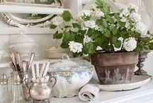Home Sweet Home / houses, interior, ideas, tips, white, pastel, shabby, country...