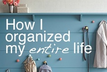 A Place For Everything / Organization Inspiration  / by Carrie Cox