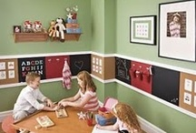 Home: Playrooms / A place to have fun, play games, watch movies, and hang out with the family. Decorating and Organizing tips too!