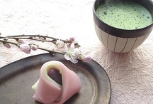 ◆Japan.... tea & sweets(お茶と茶菓子) / by Saco Takata