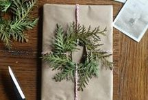 brown paper packages tied up with strings / by lullubee Crafts