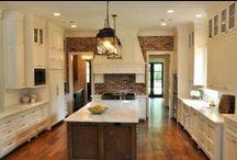 Home: Kitchen Design & Organization / Cabinets, Counters, Backsplashes, Appliances, Sinks, Lighting, & Decor