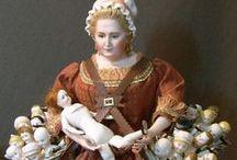 Dolls Dolls Dolls / by lullubee Crafts