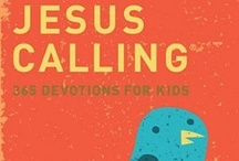 Jesus Calling / Missionary Sarah Young decided to listen to God with pen in hand, writing down what she believed He was saying to her through Scripture.They are written from Jesus' point of view, thus the title Jesus Calling.