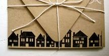 DIY - Verhuiskaarten / Wat is leuk te sturen als je verhuisd bent.