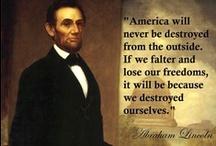 Abraham Lincoln / by Dawn Bradley