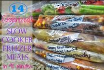 Freezer Meals / Freezer meals can help you make short work of breakfast, lunch, or dinner!  There is a learning curve, so this board has plenty of ideas, tips and resources to get you started freezing meals today!