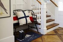 Home: Entries, Halls, & Stairs / Decorating Passageways in the Home