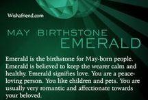 Birthstones / by Eddie Lane's Diamond Showroom