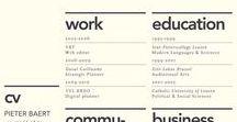 Design - CV / Hoe maak je een goede cv?