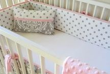 Nursery: Crib Bedding / Crib sheets, bumpers, crib skirts, pillows, mobiles, accessories / by Incredible Infant (Heather Taylor)
