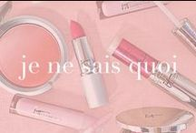 IT's Your Je Ne Sais Quoi! / We love a perfect pop of pink, whether it's through makeup, fashion, accessories or food! Our signature Je Ne Sais Quoi shade gives you that little something extra...