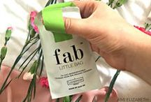 Gorgeous FabLittleBags! / FabLittleBag is an innovative sanitary disposal bag and your new handbag essential!