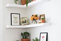 Declutter + Organize / Fantastic and creative storage and organizing ideas for the home.