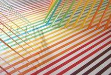 "Art In 3D / ""Space is the breath of art."" -Frank Lloyd Wright"