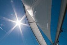 Photography : With Sails / We cannot direct the wind, but we can adjust the sails.