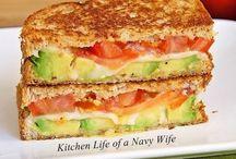 Sandwiches / by Debbie Wakolee