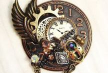 Steampunk Jewelry from Watch Parts / Fascinating jewelry created from watch and clock parts. Steampunk