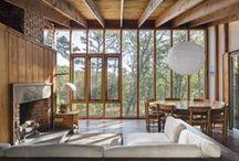 rustic/modern cabin