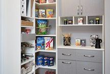 Kitchen Pantry Storage / Custom Pantry Storage Systems