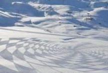 Art With Snow & Ice
