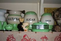 Vintage dishes and kitchenware / by Connie Hipple