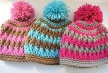 Crochet Patterns- HATS / by Ann Leete