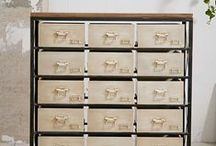 Dressers and Chests / Pretty places to store your stuff.
