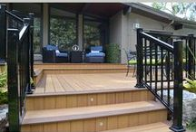 Outdoor Featured Projects, Ontario, 2014 / The Deck Store offers residential and commercial fully adjustable loured pergolas and retractable awnings from US and European manufacturers.  For product presentation and consultation you can visit one of our showroom in Oakville.