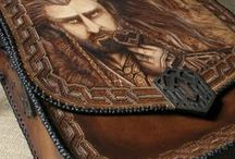 Morgenland Art / Leather and wooden handmade creations.  For custom orders contacting me at morgenland@gmail.com