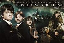 """Hogwarts Is My Home / """"Whether you come back by page or by the big screen, Hogwarts will always be there to welcome you home."""" ~J.K. Rowling / by Kaylee Michelle"""