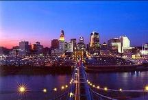 Cincinnati <3 / My beautiful hometown, Cincinnati. I miss it so..... / by Debbie Maxwell