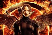 """Hunger Games Trilogy / The Hunger Games, Catching Fire, and Mockingjay. """"I drag myself out of nightmares each morning and find there's no relief in waking."""" ~Finnick Odair  / by Kaylee Michelle"""