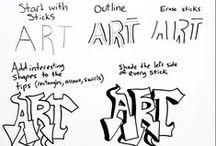 Art- Fonts & Paper Prints / by Tammy Kliewer
