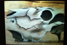 Art- Chalk & Charcoal / by Tammy Kliewer