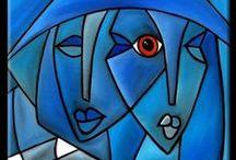 Art- Cubism / by Tammy Kliewer