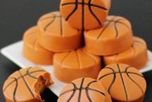 March Madness Party Food / Basketball themed party food. Appetizers, snacks, and desserts for March Madness parties and events.