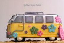 Yellow Sugar Bakes & Creates / Finding Nemo birthday cake - Children's birthday cake ideas
