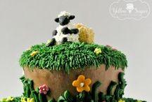 Birthday cake ideas / By Yellow Sugar Bakes & Creates