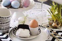 Pääsiäinen / Täällä jaamme meiltä ja muualta ideoita ja inspiraatiota keväiseen pääsiäiskattaukseen, -koristeluun ja -tunnelmaan. / by Kodin Ykkönen